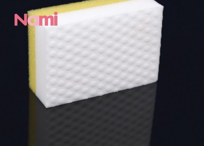 Nano Melamine Eraser Sponge Anti - Bacterial Excellent Absorbency 10 * 7 * 3cm