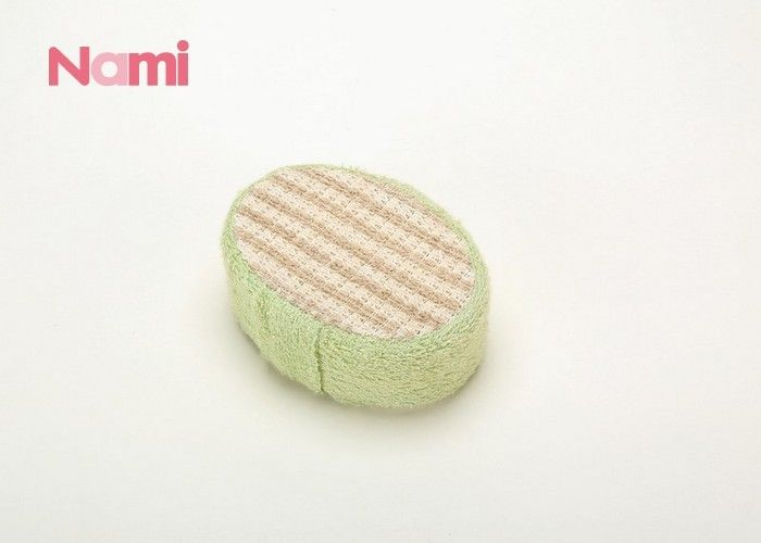 Round Ball Mesh Exfoliating Loofah Sponge Soft Touch Feeling For Bathroom