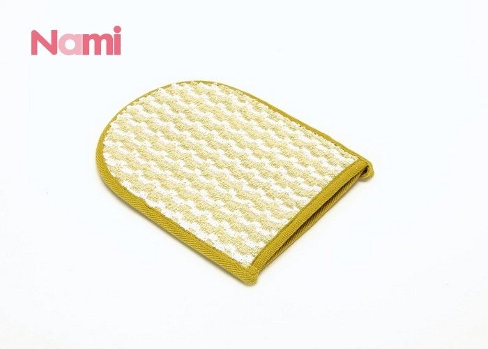 Hemp Sisal Exfoliating Mitt , Different Sizes Spa Shower Wash Mitt For Bathing