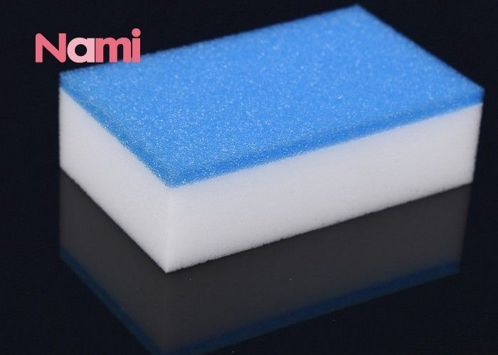 Reliable Magic Eraser Sponge Polyester / Polyamide Material Customized Shape